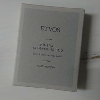 エトヴォス(ETVOS)のエトボス ミネラルシマリングデュオ(フェイスパウダー)