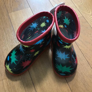 ディズニー(Disney)の新品タグ付き ベイマックス レインシューズ 13.0(長靴/レインシューズ)