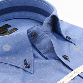 タカキュー(TAKA-Q)のワイシャツ   綿100%  形態安定  スーパーイージーケア スリムフィット (シャツ)