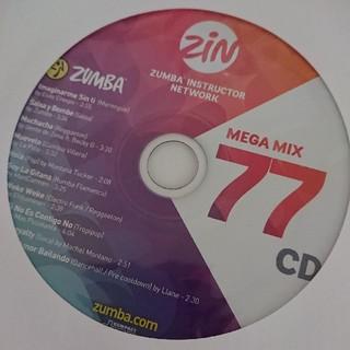 ズンバ(Zumba)のZUMBA MEGAMIX 77 CD(クラブ/ダンス)