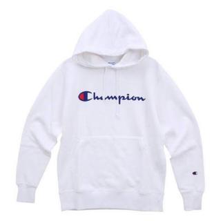 Champion - Champion(チャンピオン) XL 白パーカー
