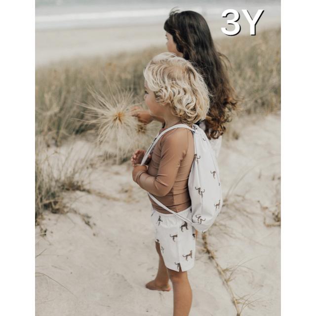 こどもビームス(コドモビームス)のjamiekay 水着 ラッシュガード+パンツ 3YR キッズ/ベビー/マタニティのキッズ服男の子用(90cm~)(水着)の商品写真