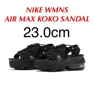 NIKE - ナイキ ウィメンズ エアマックス ココ サンダル ブラック 23.0cm