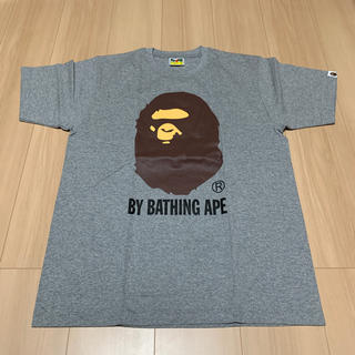 A BATHING APE - L BAPE LOGO ベイプ ビッグロゴ Tシャツ