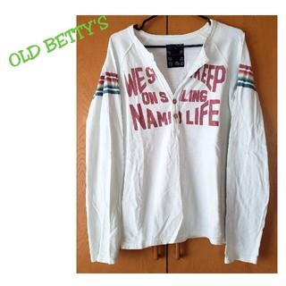 オールドベティーズ(OLD BETTY'S)のOLD BETTY'S オールドベティーズ カットソー ロンT(Tシャツ(長袖/七分))