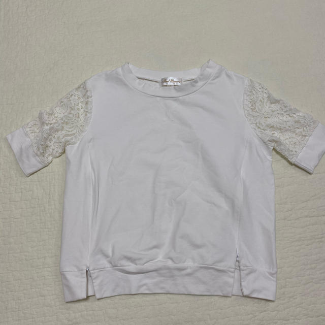 SweetMommy⭐️レース袖 授乳プルオーバー キッズ/ベビー/マタニティのマタニティ(マタニティトップス)の商品写真