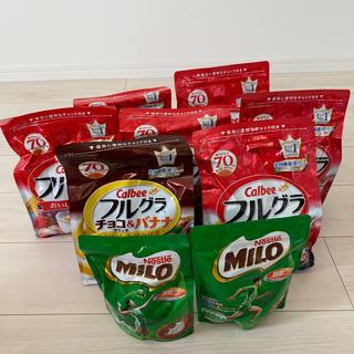 Nestle - ネスレ ミロ フルグラ セット フルーツグラノーラ