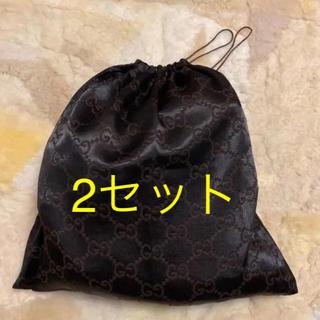 グッチ(Gucci)のGUCCI グッチ 保存袋 巾着袋 2枚(ショップ袋)