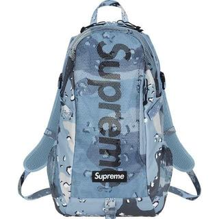 Supreme - 20SS Supreme Backpack Blue  Camo