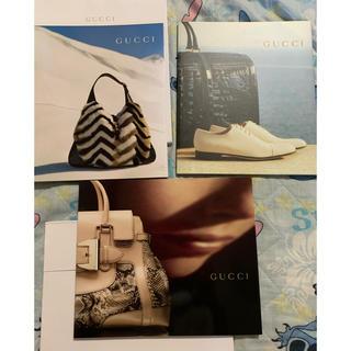 グッチ(Gucci)のGUCCI カタログ 非売品 コレクション3冊(ファッション)