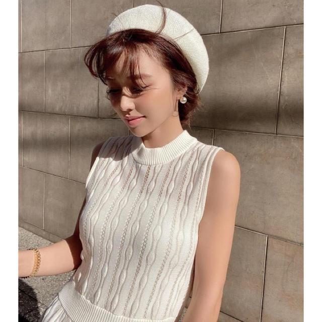 eimy istoire(エイミーイストワール)の新品タグ付⭐️eimy istoireエイミーイストワールスプリングベレー帽 レディースの帽子(ハンチング/ベレー帽)の商品写真