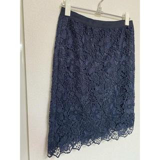 ANAYI - ANAYI モザイクフラワーレースタイトスカート