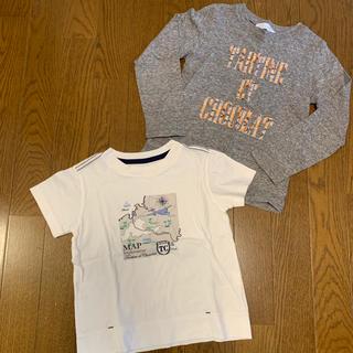 タルティーヌ エ ショコラ(Tartine et Chocolat)の美品 タルティーヌエショコラ Tシャツ 120 2枚セット(Tシャツ/カットソー)
