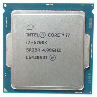 D196 Intel Core i7 6700K 4.0GHz  Skylake(PCパーツ)