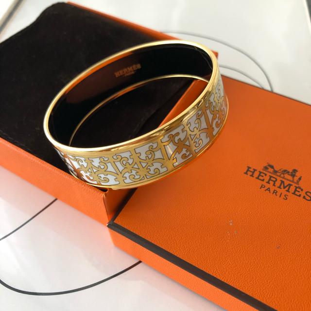 Hermes(エルメス)のHERMES ガダルキヴィール エマイユ レディースのアクセサリー(ブレスレット/バングル)の商品写真