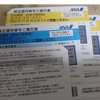 ANA(全日本空輸) - ANA 全日空 株主優待券     / 優待 割引券 優待券