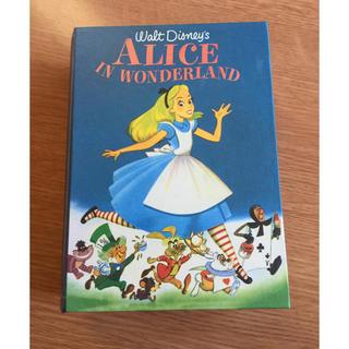 ディズニー(Disney)のアリス アリス・イン・ワンダーランド 本型ケース(収納/チェスト)