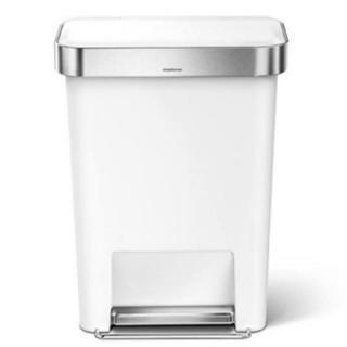 【正規品】シンプルヒューマン ゴミ箱 レクタンギュラー 45L ペダル 蓋付(ごみ箱)