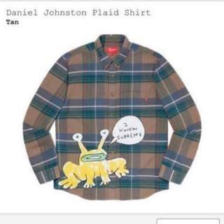 シュプリーム(Supreme)のSupreme Daniel Johnston Plaid Shirt Sサイズ(シャツ)