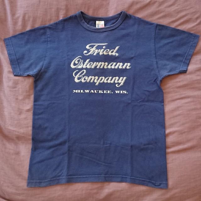 Buzz Rickson's(バズリクソンズ)のバズリクソンズトーヨーエンタープライズ Tシャツ ネイビー 36~38 S メンズのトップス(Tシャツ/カットソー(半袖/袖なし))の商品写真