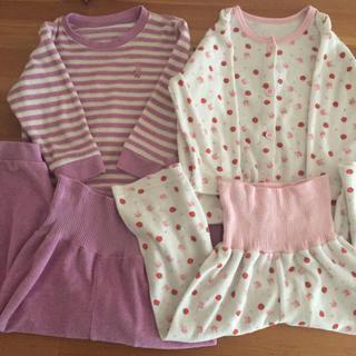 西松屋 - 女の子  パジャマ  90 2セット