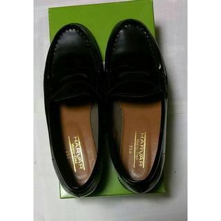 ハルタ(HARUTA)のHARUTA ローファー 黒 23cm(ローファー/革靴)