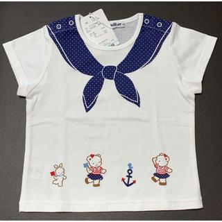 familiar - familiar ☆マリンTシャツ☆新品未使用