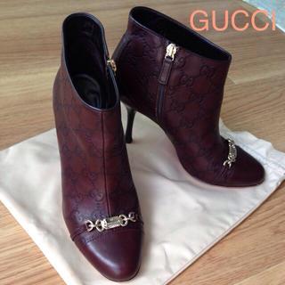 グッチ(Gucci)のGUCCI GGブーティ36(ブーティ)
