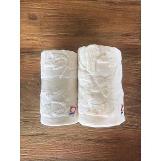 イマバリタオル(今治タオル)の今治タオル 新品未使用 33×35cm 花柄(タオル/バス用品)