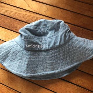 アディダス(adidas)のad id as帽子56センチ(帽子)