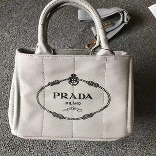 PRADA - 美品☆PRADA プラダ カナパ ハンド トートバッグ デニム
