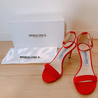DEUXIEME CLASSE - 【新品未使用】NEBULONIE ネブローニサンダル RED 赤 23.5
