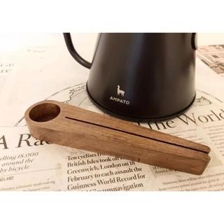 【coffee clip wood spoon】(ダークブラウン)(カトラリー/箸)
