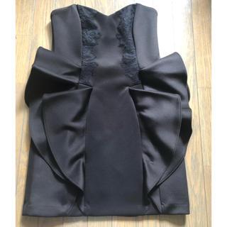 BCBGMAXAZRIA - BCBG フレアドレス 黒 ワンピース キャバ ナイトドレス