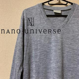 ナノユニバース(nano・universe)の【美品】ナノユニバース アクリルニットソー(ニット/セーター)
