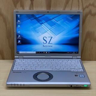 Panasonic - 美品Let's Note CF-SZ5◆i5-6300U◆新品SSD256GB