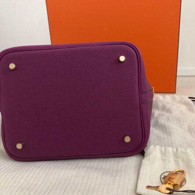 Hermes(エルメス)の新品未使用❣️Hermesエルメス ピコタンロック MM アネモネ ゴールド金具 レディースのバッグ(ハンドバッグ)の商品写真