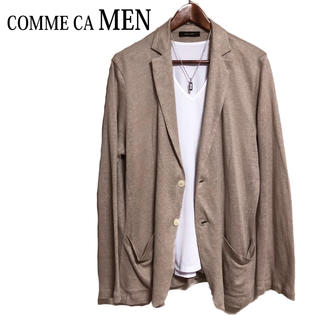 コムサメン(COMME CA MEN)のCOMME CA MEN リネンジャケット サマージャケット ニットジャケット(テーラードジャケット)