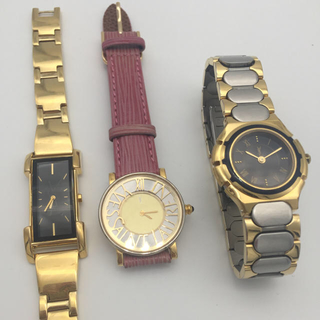 サンローラン(Saint Laurent)のイヴ・サンローラン 3本セット! お買い得 まとめ売り 腕時計(腕時計)