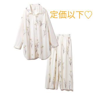 gelato pique - ジェラートピケ♡ 【セットアップ】クリアフラワーシャツドレス&ロングパンツSET