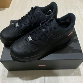 NIKE - NIKE SUPREME AIR FORCE 1 LOW BLACK ブラック
