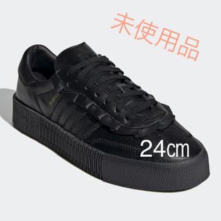 adidas - adidas サンバローズ フリル ブラック 24㎝