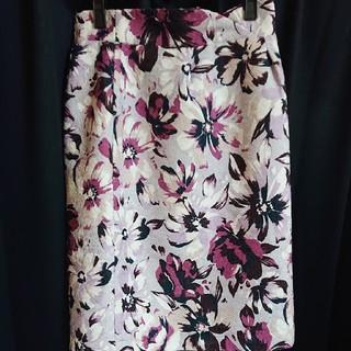PROPORTION BODY DRESSING - スカート2 花柄スカート プロポーションボディドレッシング