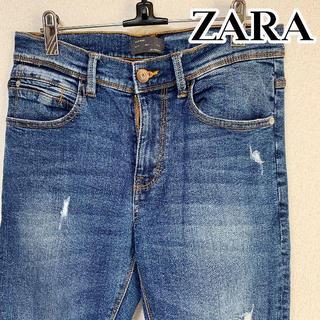 ザラ(ZARA)のZARA MAN スリムフィット テーパード クロップド ジーンズ 31 ザラ(デニム/ジーンズ)