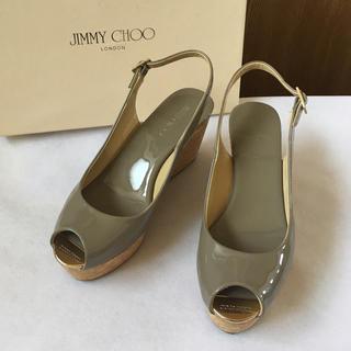 JIMMY CHOO - 美品 ジミーチュウ サンダル