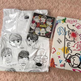 ジャニーズWEST - ジャニーズWEST♡CD未開封Wtroubleオンライン限定盤Tシャツ付通販盤
