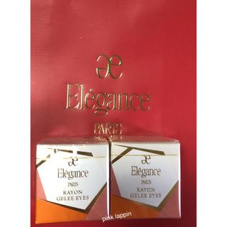 エレガンス(Elégance.)の新品 エレガンス レヨンジュレアイズ アイシャドウ 限定カラー 102 103(アイシャドウ)