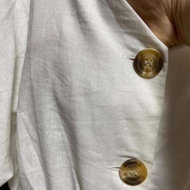 GRL(グレイル)のVネックウエストマークブラウス GRL レディースのトップス(シャツ/ブラウス(長袖/七分))の商品写真