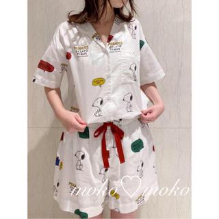 gelato pique - ジェラートピケ♡ 【PEANUTS】シャツ&ショートパンツ