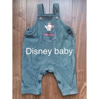 ディズニー(Disney)のDisneybaby オーバーオール 80(カバーオール)